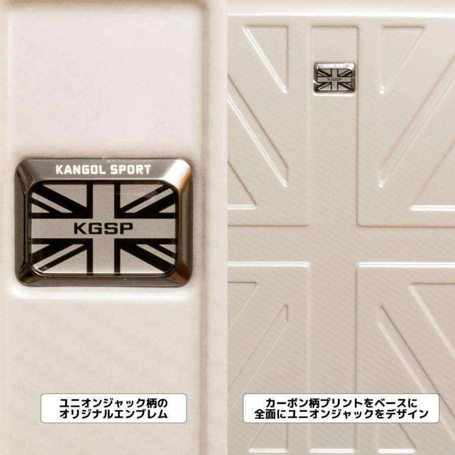 キャリーケース スーツケース キャリーバッグ KANGOL SPORT/KGSP アウトレット UK-IIRシリーズ 22インチ拡張型ジッパータイプ(850-8810カーボンオーク)|borsa-uomo|04