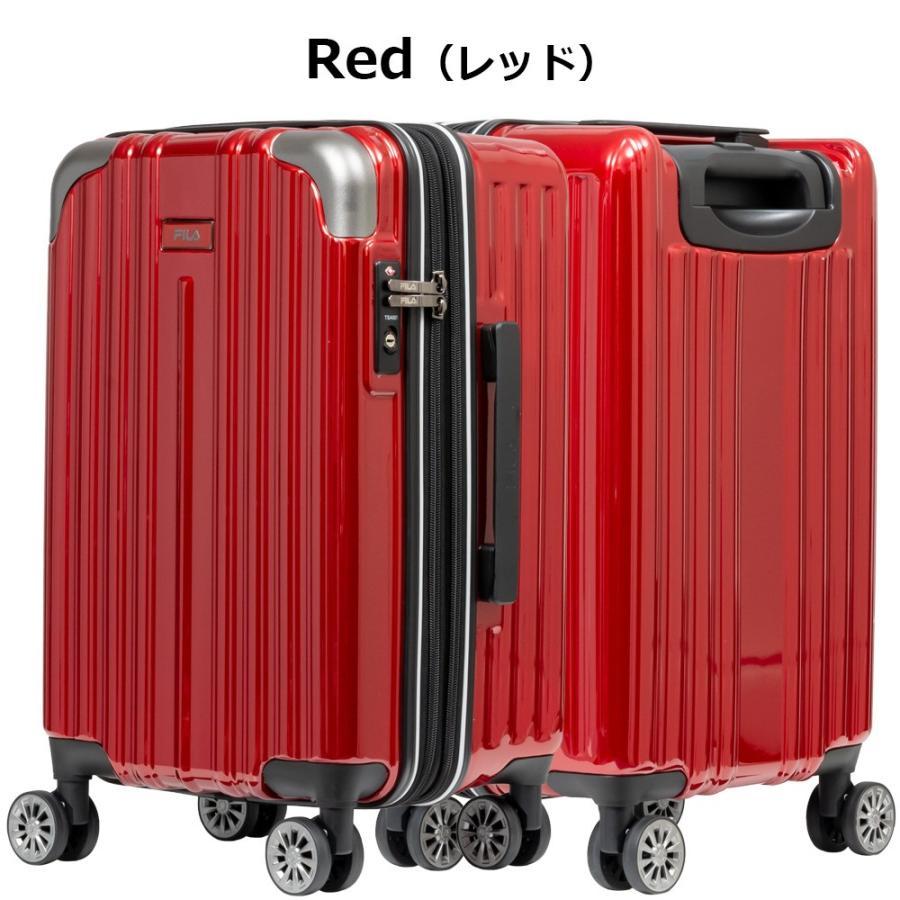 スーツケース キャリーケース キャリーバッグ FILA フィラ 2/8シリーズ ファスナー拡張タイプハードキャリーケース 19インチ (全4色 860-1851) borsa-uomo 07