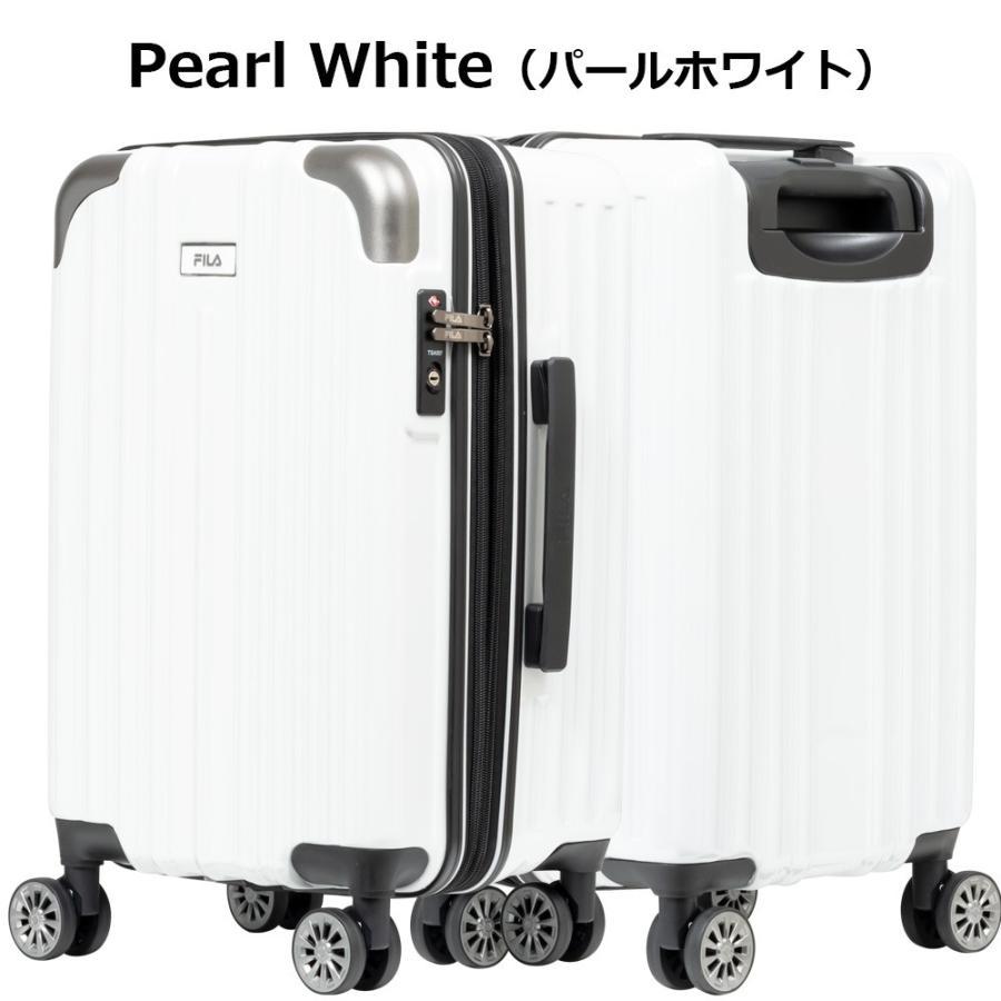スーツケース キャリーケース キャリーバッグ FILA フィラ 2/8シリーズ ファスナー拡張タイプハードキャリーケース 19インチ (全4色 860-1851) borsa-uomo 09