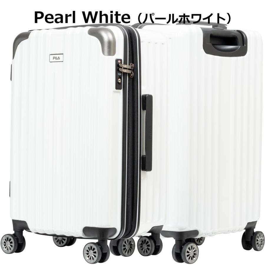 スーツケース キャリーケース キャリーバッグ FILA フィラ 2/8シリーズ ファスナー拡張タイプハードキャリーケース 22インチ (全4色 860-1852)|borsa-uomo|09