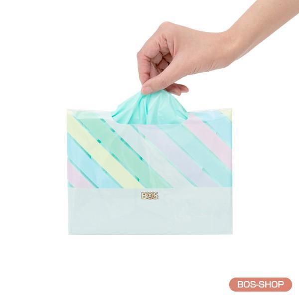 臭わない袋 BOS ( ボス ) ストライプパッケージ Sサイズ 30枚入 × 3セット 送料別|bos-shop|03