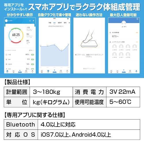連動 体重 計 アプリ