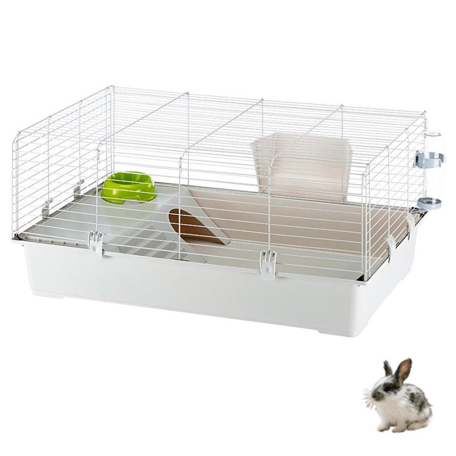 イタリアferplast社製 モルモット うさぎ用ケージ ラビット 100 Rabbit 100 セット