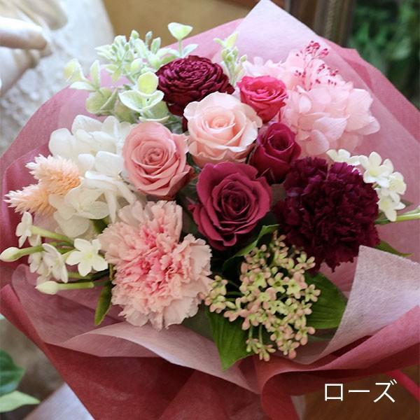 プリザーブドフラワー 敬老の日 プレゼント 花 ギフト 花束 「フルール・グラン」 ブリザードフラワー 結婚式 両親 花束贈呈 送別会 退職祝い 誕生日 結婚記念日 bouquetblanche 18
