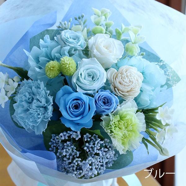 プリザーブドフラワー 敬老の日 プレゼント 花 ギフト 花束 「フルール・グラン」 ブリザードフラワー 結婚式 両親 花束贈呈 送別会 退職祝い 誕生日 結婚記念日 bouquetblanche 14