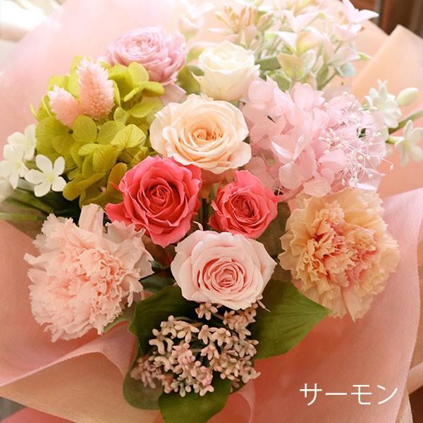 プリザーブドフラワー 敬老の日 プレゼント 花 ギフト 花束 「フルール・グラン」 ブリザードフラワー 結婚式 両親 花束贈呈 送別会 退職祝い 誕生日 結婚記念日 bouquetblanche 16
