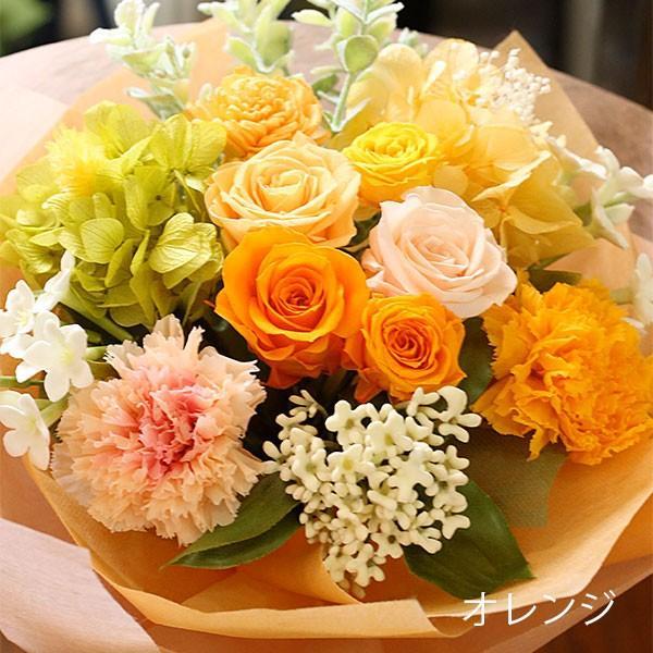 プリザーブドフラワー 敬老の日 プレゼント 花 ギフト 花束 「フルール・グラン」 ブリザードフラワー 結婚式 両親 花束贈呈 送別会 退職祝い 誕生日 結婚記念日 bouquetblanche 17