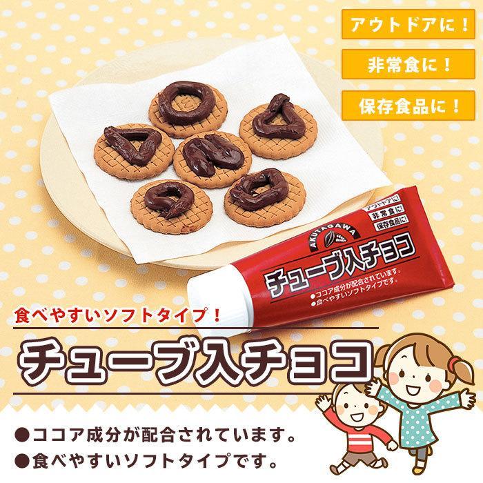 非常食 保存食 チューブ入りチョコ チョコレート お菓子 災害食 賞味期限2023年6月29日迄|bousai|02