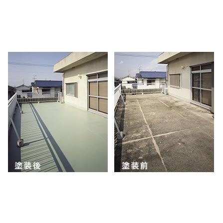 シャープ化学 ビソーコート 標準色 18kg/缶 水性アクリルエマルジョン系 防水材 ベランダ 屋上 壁面|bousui-must|05