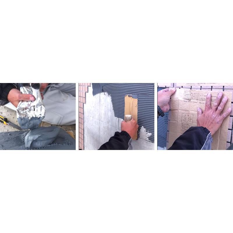 タイル張り 接着剤 エコエコボンド アイカ SE-35 SE-35H 内外装タイル用弾性接着剤 2kg/本×9本/箱 変性シリコーン樹脂|bousui-must|05