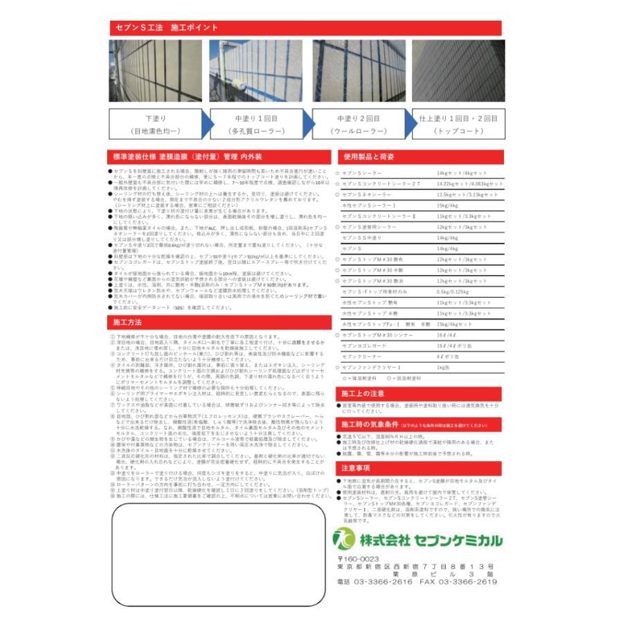 水性セブンSシーラーI(アイ) ナノカチオンシーラー セブンケミカル 樹脂 4kg/缶 1液|bousui-must|02