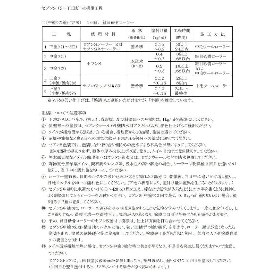 セブンSネオシーラー セブンケミカル 3.13kgセット 下塗り塗料 2液 bousui-must 06