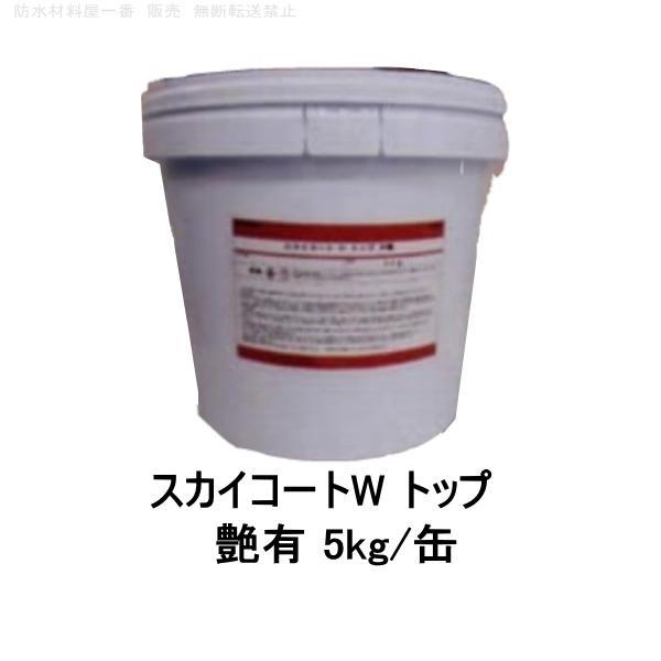 スカイコートW トップ 外壁保護塗料 艶有 半艶 5kg/缶|bousui-must|08