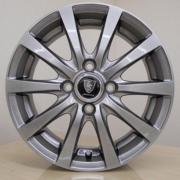 2021年製 VRX 155/65R14+ユーロスピード G10(マナレイスポーツ 防錆対策ホイール)+スタッドレスタイヤ+アルミホイール4本セット|bowers2|13