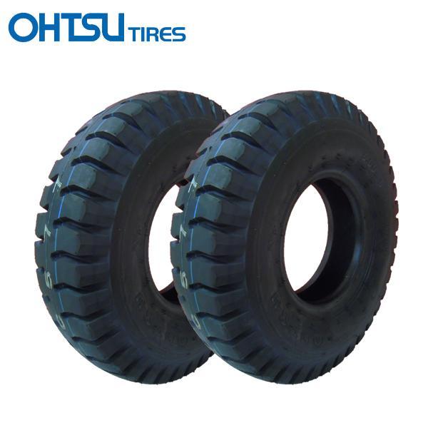 ID 6.00-9 10PR タイヤ2本セット 送料無料 FALKEN(OHTSU) 荷車用600-9 10PR