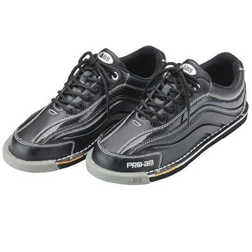 ABS ボウリング シューズ S-950 ブラック・ブラック アメリカン ボウリング サービス ボウリング用品 ボーリング グッズ 靴