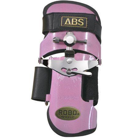 ABS ロボリスト ショートモデル パールピンク ボウリング リスタイ グローブ ボウリング用品 ボーリング グッズ