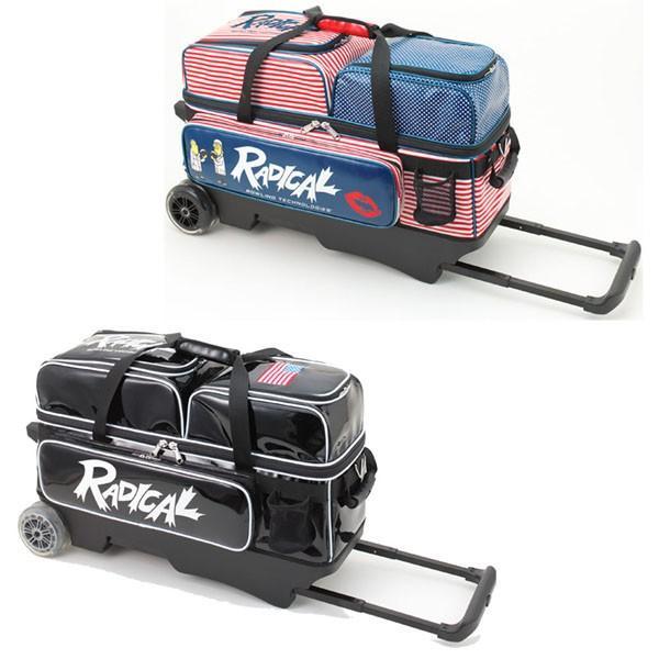 高級感 ラディカル ボウリング バッグ T-Radical 3 ボール バッグ カート 3 ラディカル ボウリング用品 ボウリング ボーリング グッズ, REGALO:8f9afdbc --- airmodconsu.dominiotemporario.com