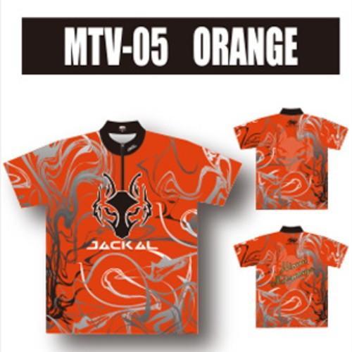 (ABS) ジャッカルウエア MTV-05 オレンジ ネームプリント有り