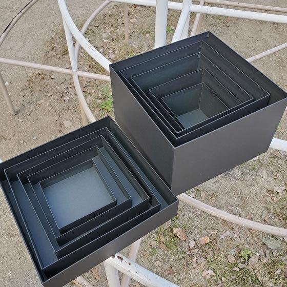 マトリョーシカBOXセット ブラック クリスマス用リボン付き|boxstore-net|03