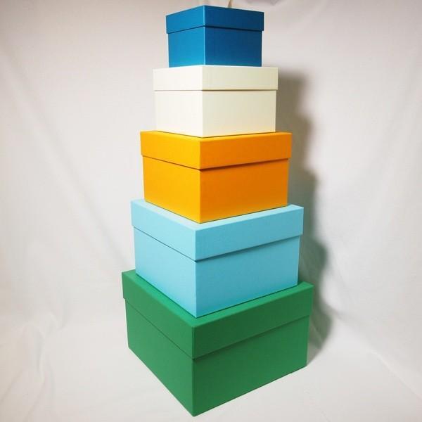 マトリョーシカBOXセット・ボーイズカラー(リボン無し) boxstore-net