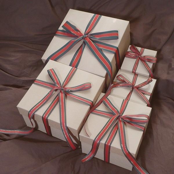 マトリョーシカBOXセット クラフト クリスマス用リボン付き|boxstore-net|02