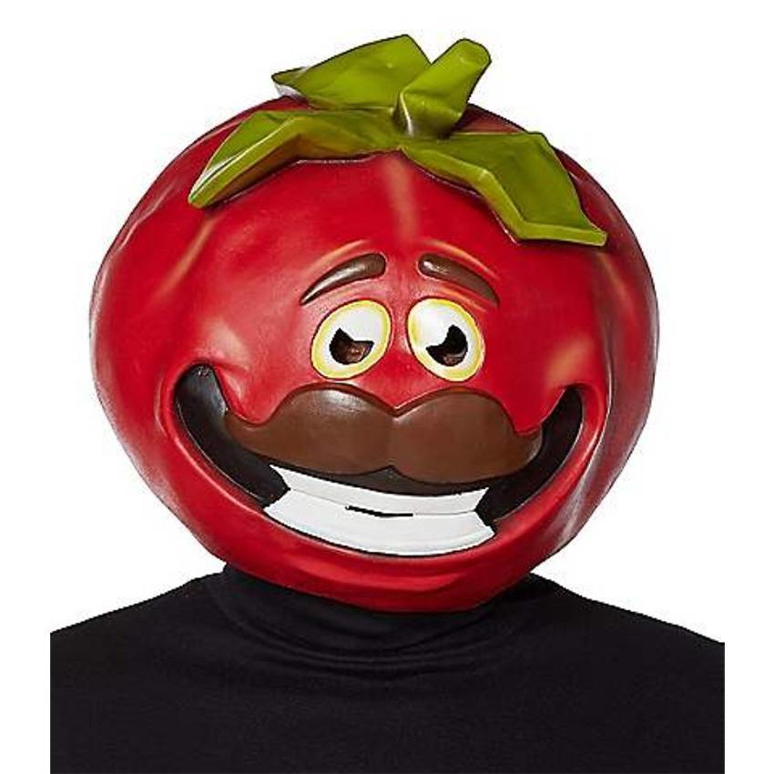 TomatoHead Mask Deluxe - Fortnite ハロウィン マスク お面 仮装 Halloween ハロウィーン おめん コスプレ パーティーグッズ