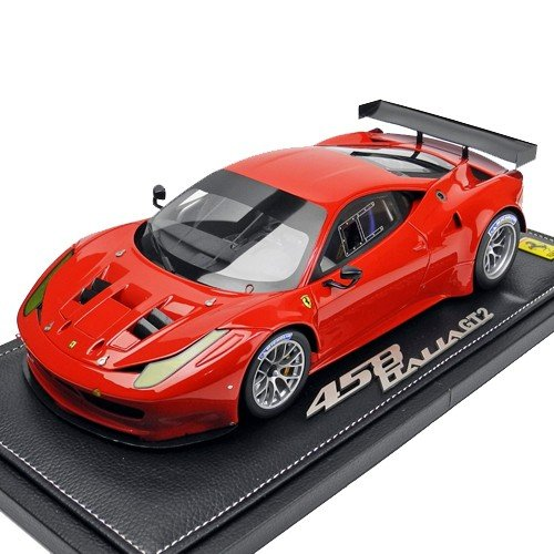 BBR MODELS 1/18スケール フェラーリ 458ITALIA GT2 GTE Pro 2012 Rosso Corsa P1853