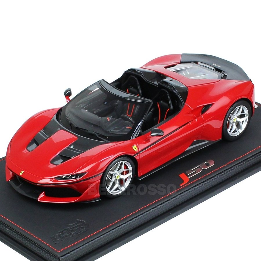 BBR MODELS 1/18スケール フェラーリ J50 50th anniversary Ferrari in Japan (ケース付き) P18156V