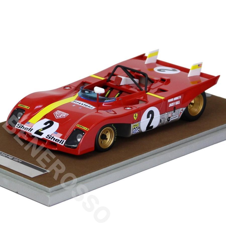 テクノモデル 1/18スケール フェラーリ 312PB デイトナ 6h 1972 優勝車 ...