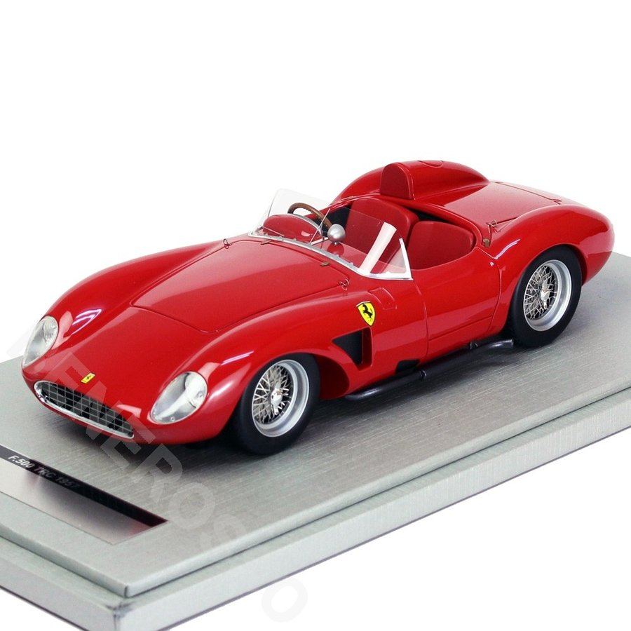 テクノモデル 1/18スケール フェラーリ 500 TRC Press 1957 レッド TM18-51A