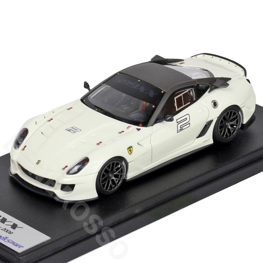 "Look Smart 1/43スケール フェラーリ 599XX ""Versione Clienti"" #2 Bianco Avus"