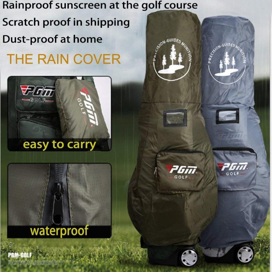 kofull PGMゴルフ標準Carry Bagカモフラージュナイロンwith Wheels???無料送信A雨カバー グリーン