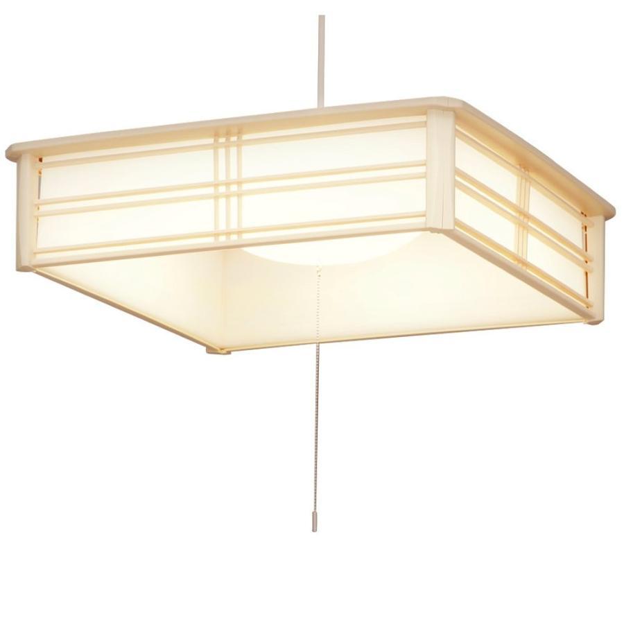アイリスオーヤマ LED ペンダントライト 調光 タイプ ~10畳 和風 電球色 PLC10L-J