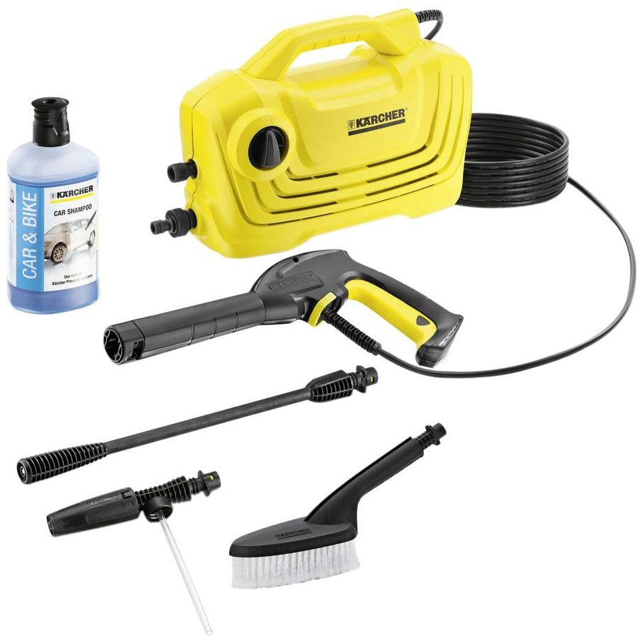 ケルヒャー(KARCHER) 高圧洗浄機 K2 クラシック カーキット 1.600-976.0|braggart4|05