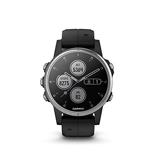 GARMIN(ガーミン) fenix 5s Plus Black 音楽再生機能 マルチスポーツ型GPSウォッチ 最大6日間稼働 日本正規品