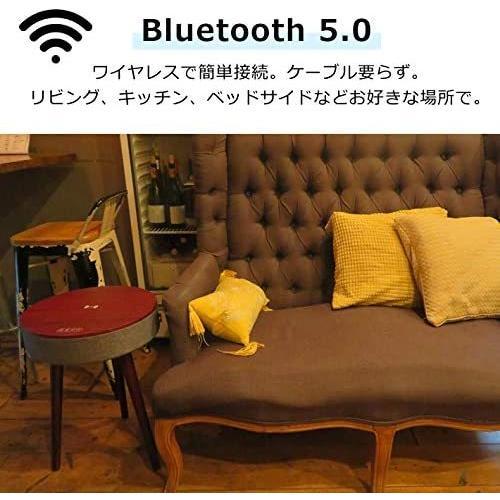 CICONIA サウンドテーブル STC-109BBT (ホワイトウッド) Bluetooth5.0対応スピーカー コーヒーテーブル サイド braggart4 03