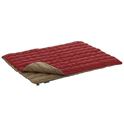 ロゴス 寝袋 2in1 Wサイズ丸洗い寝袋・0[最低使用温度0度] 72600690