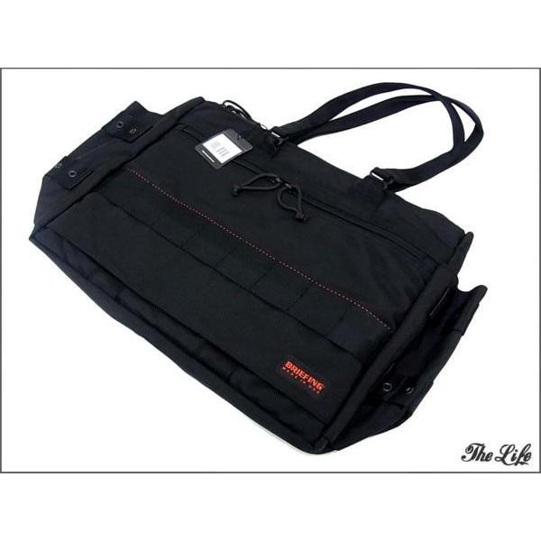 未使用/新古品 BRIEFINGブリーフィングWIDE PROTECTION TOTEバッグ/黒