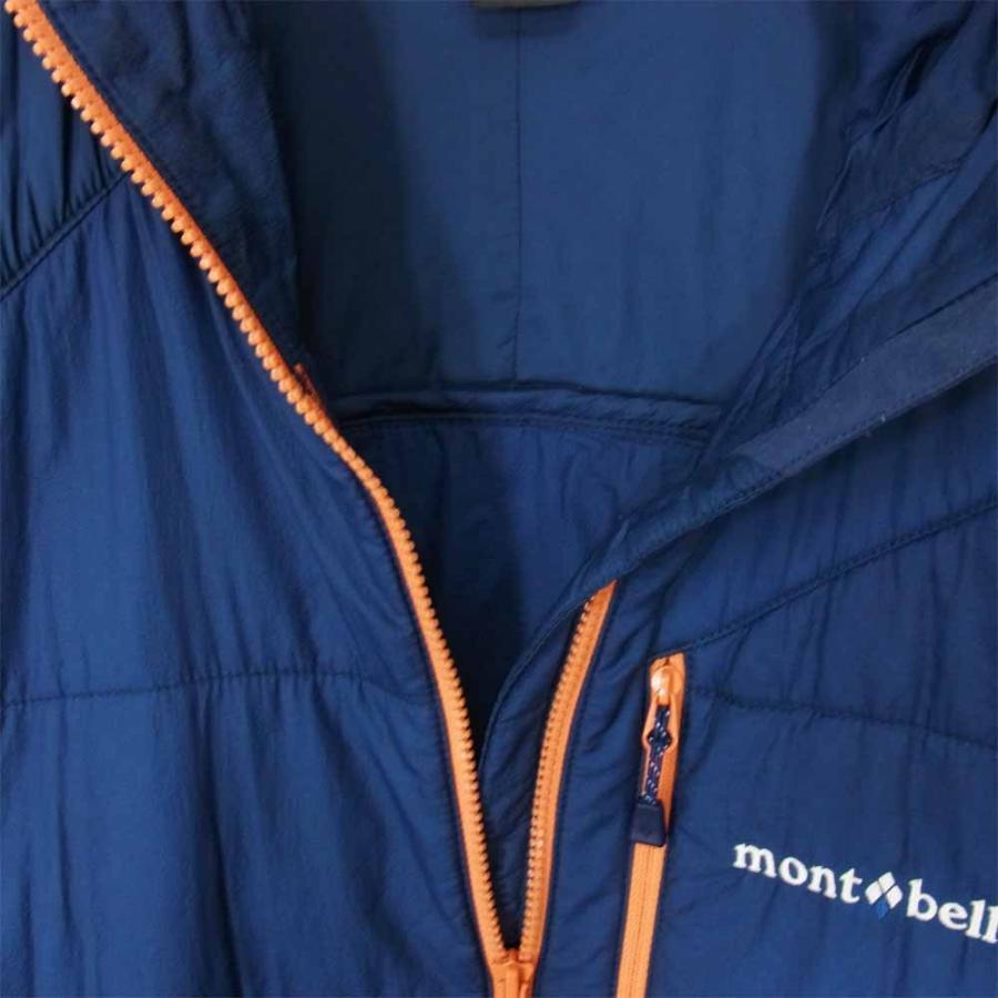 mont-bell モンベル 1101538 U.L.サーマラップ パーカ フーディー ダウンジャケット ネイビー系 L【中古】|brand-life|03