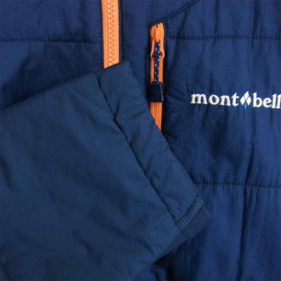 mont-bell モンベル 1101538 U.L.サーマラップ パーカ フーディー ダウンジャケット ネイビー系 L【中古】|brand-life|06