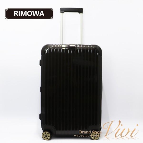 リモワ メンズ レディース スーツケース RIMOWA SALSA DELUXE 63L 5-7day キャリーケース 831.63.52.5 Polycarbonate Brown TCLD9091