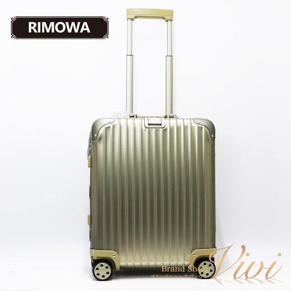 リモワ メンズ レディース スーツケース RIMOWA TOPAS TITANIUM 45L 3-5day キャリーケース 923.56.03.4 Aluminium Titanium TCLD9091