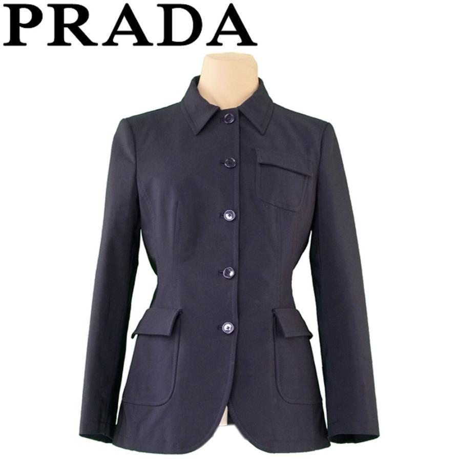 【一部予約販売】 プラダ ジャケット アウター ♯40サイズ シングルボタン PRADA, コブチサワチョウ cb4f042c