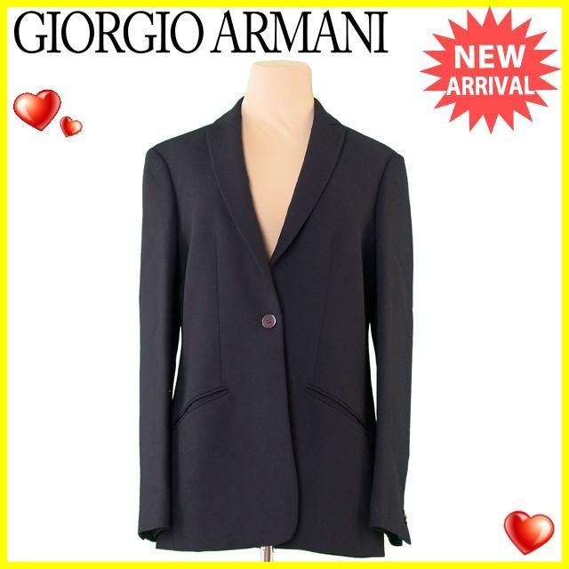 非売品 ジョルジオ アルマーニ GIORGIO ARMANI ジャケット 1つボタン レディース ♯40サイズ テーラード  良品 セール J19056, URUZZ 96c25c62