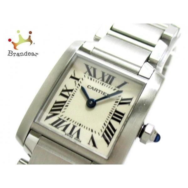 【正規取扱店】 カルティエ Cartier 腕時計 タンクフランセーズSM W51008Q3 レディース 白 値下げ 20170205, クロサワ楽器池袋店 Wavehouse f31ca0d3
