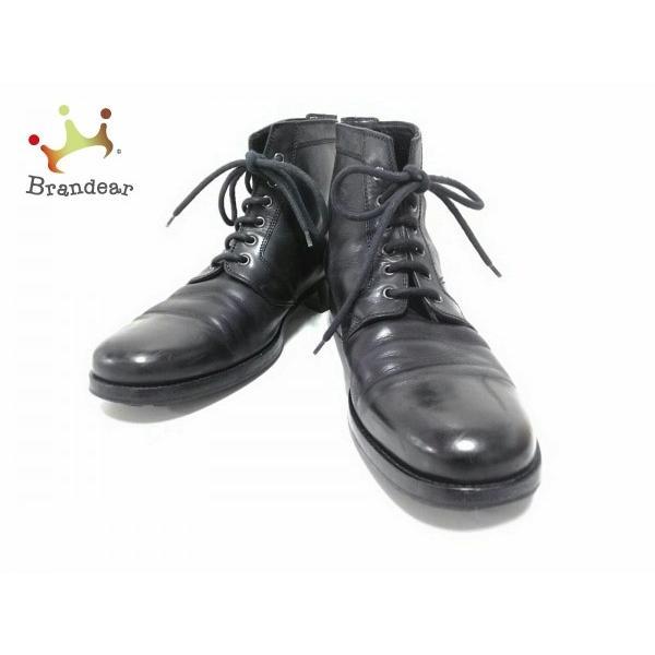 new products d727e 3526a ディオールオム Dior HOMME ショートブーツ メンズ 黒 レース ...