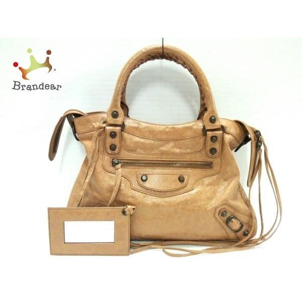buy online cf60e 5b257 バレンシアガ BALENCIAGA ハンドバッグ ザ·タウン レザー 240579 ...