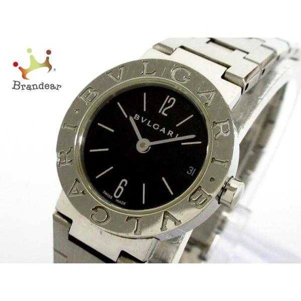 【国内配送】 ブルガリ BVLGARI 腕時計 ブルガリブルガリ BB23SS レディース 黒 値下げ 20191014, 可愛いエコバッグ AIRY&CO. b4094ac0