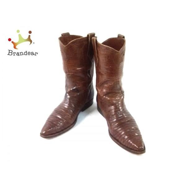 最新人気 サルトル SARTORE ブーツ リザード 37 37 1/2 1 ブーツ/2 レディース ダークブラウン リザード スペシャル特価 20200104, ミソノムラ:e2d0db3d --- fresh-beauty.com.au